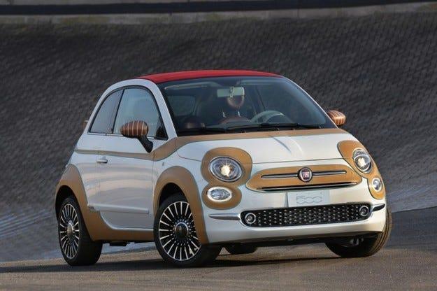 Продадоха уникален Fiat 500 с кожа отвън за 55 000 евро