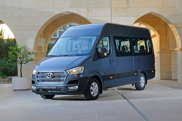 Hyundai представи конкурент на Mercedes-Benz Sprinter