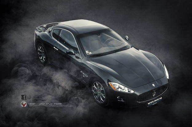 Maserati GranTurismo by Vilner: Красота за боговете
