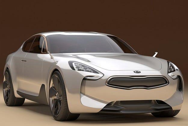 Южнокорейската компания Kia обнови концепцията GT