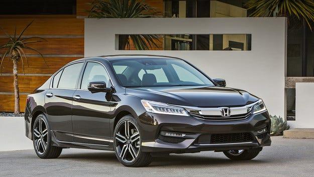 Обновиха Honda Accord Sedan за американския пазар
