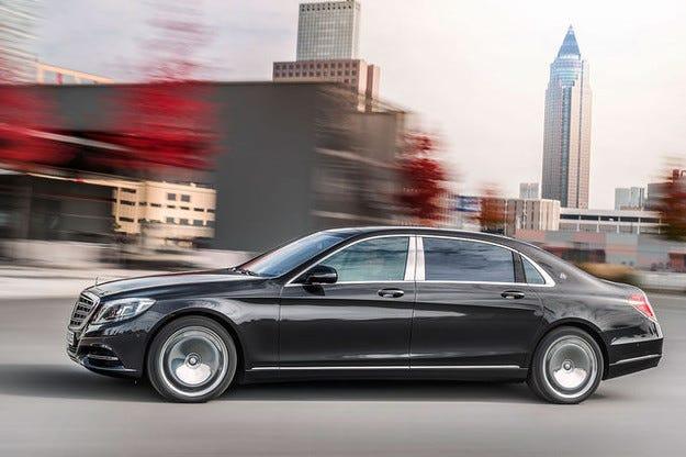 Най-големият пазар на Mercedes-Maybach в света е Китай