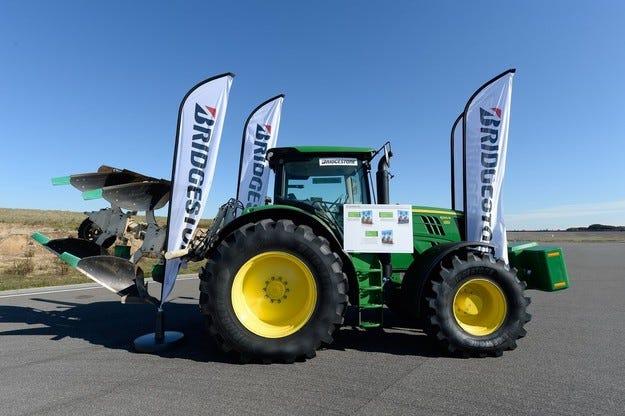 Bridgestone стъпи в Европа с гуми за селското стопанство