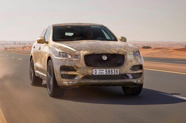 Компанията Jaguar тества F-Pace при екстремни температури
