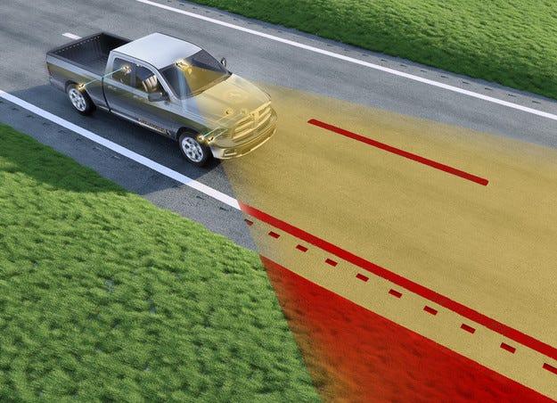 Технология от Continental препазва излизането от пътя