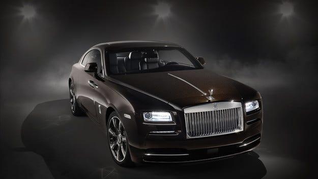 "С купето Wraith ""Inspired by Music"" Rolls-Royce почита рока"