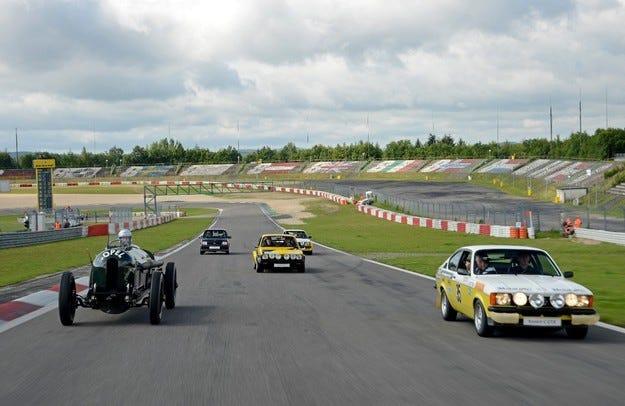 Състезателните звезди на Opel на салона Oldtimer Grand Prix