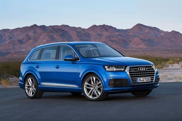 Компанията Audi разсекрети най-евтината версия на Q7