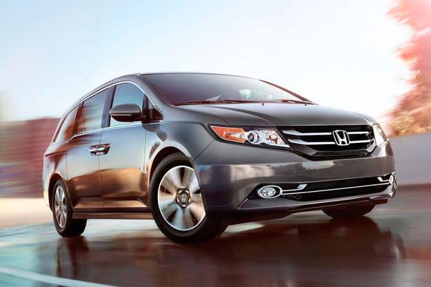 Honda представи специална версия на минивана Odyssey