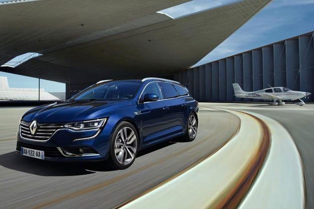 Компанията Renault представи комбито Talisman