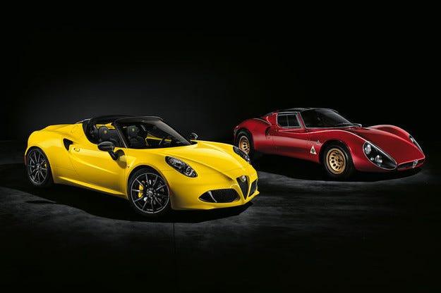 Alfa Romeo 4C получава ново специално оборудване