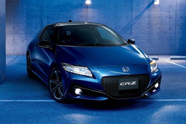 Компанията Honda представи обновения модел CR-Z