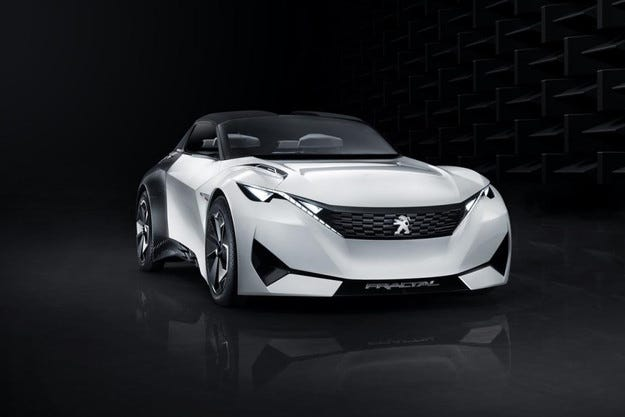 Компанията Peugeot представи купе със сгъваем покрив