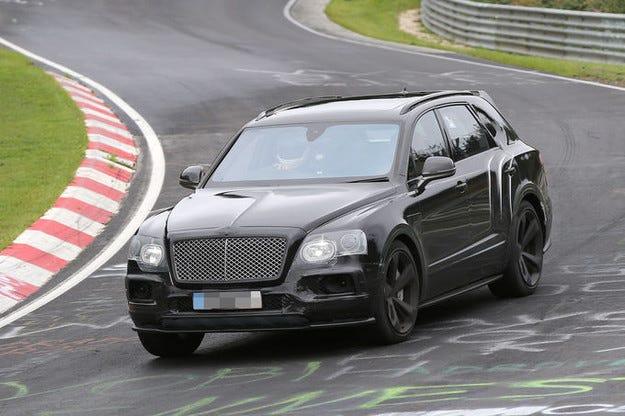 Bentley Bentayga Speed ще бъде един от най-бързите