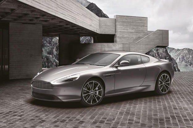Специално издание на Aston Martin DB9 в чест на Бонд