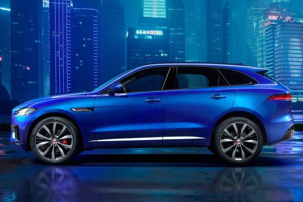 Jaguar свали завесата над първия си кросоувър