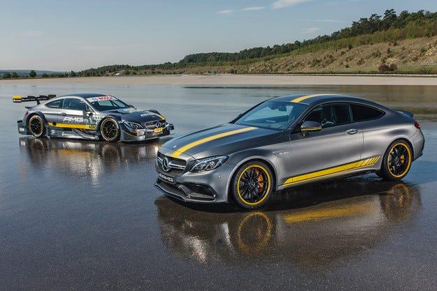 Mercedes показа спецверсия на най-бързата C-класа