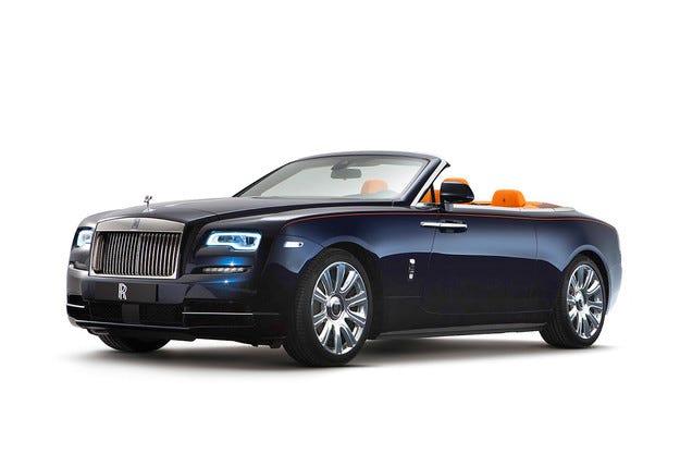 Rolls-Royce Dawn: Божествено удоволствие под звездите