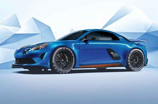 Renault ще представи кросоувър Alpine през 2018 г.