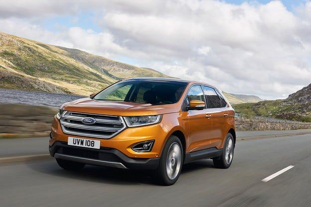 Компанията Ford представи кросоувъра Edge за Европа