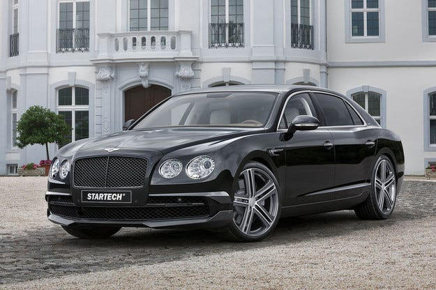 Гастрол на Startech Bentley Flying Spur във Франкфурт