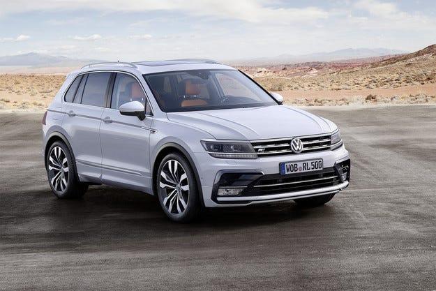 Volkswagen разкри новото поколение на кросоувъра Tiguan
