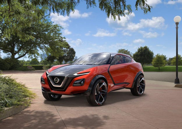 Концептът Nissan Gripz съчетава спортен модел и кросоувър