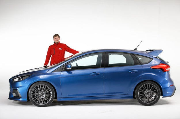 Новият Ford Focus RS (2015): 4х4, 350 к.с. и 39 000 евро