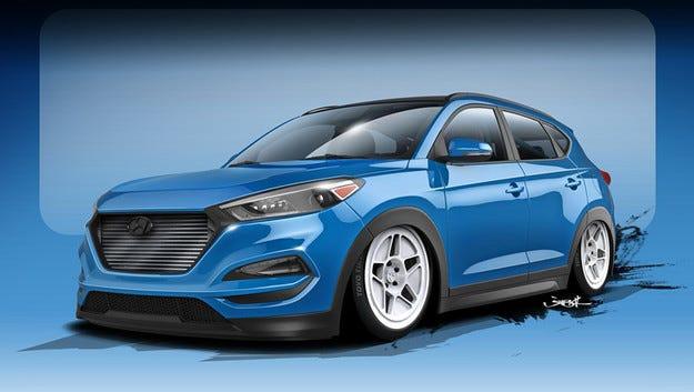 Hyundai направи кросоувър със 700 конски сили