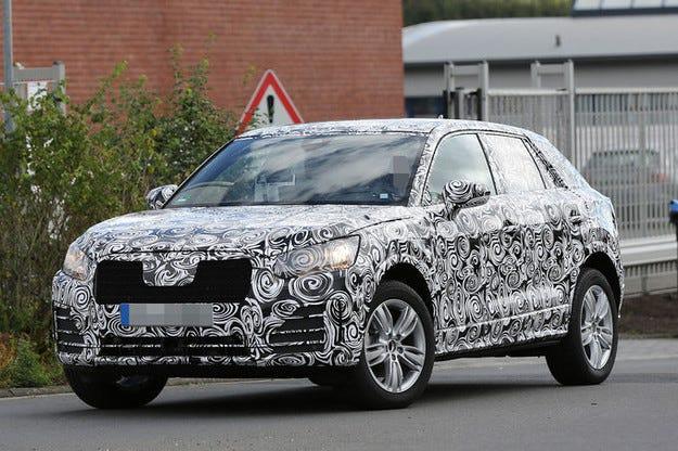 Прототипът Audi Q1: По-малкият SUV идва като Q2