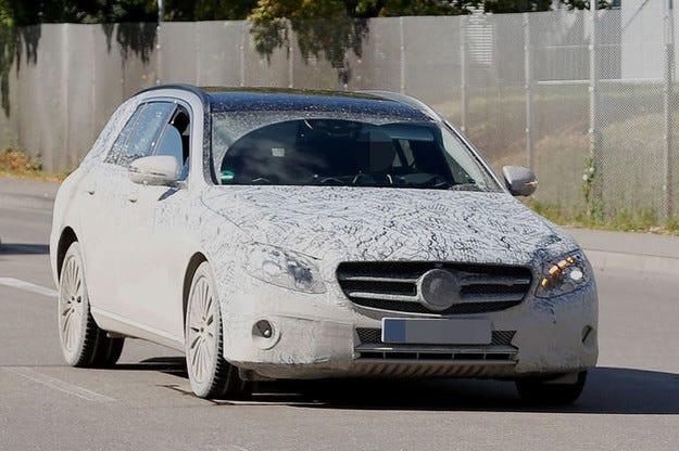 Mercedes E-класа: Така изглежда Т-моделът
