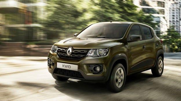 Цената на хечбека Renault Kwid по-ниска от очакваното
