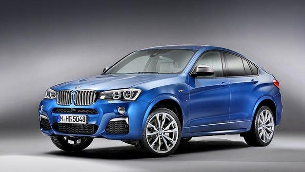 Кросоувърът BMW X4 ще получи гореща М-версия