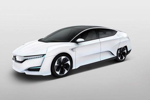 Honda FCV: Сериен модел с горивна клетка през 2016