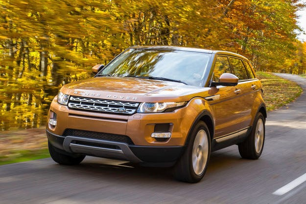 Обновеният Range Rover Evoque още по-добър Evoque