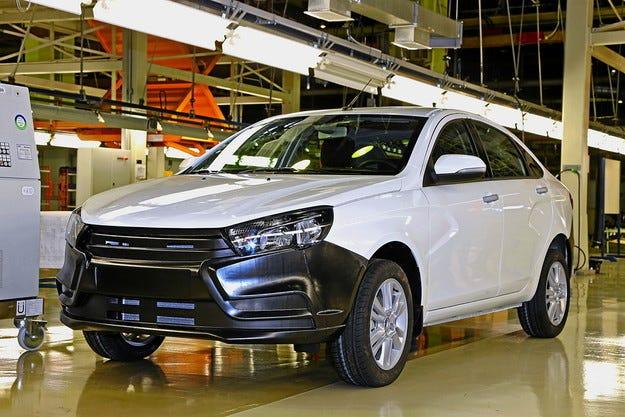 АвтоВАЗ ще продава Lada Vesta в Германия и Италия