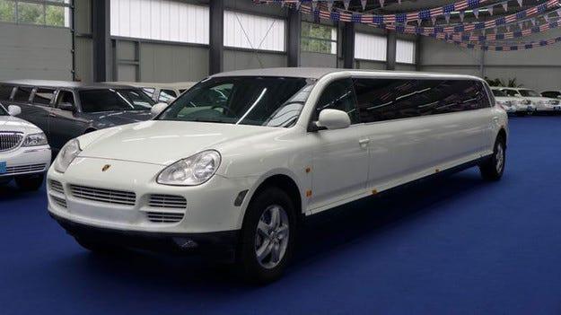 Porsche Cayenne от Star-Limos: 9-метрова лимузина