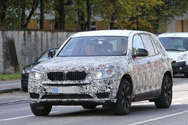 Прототипът BMW X3 (2016): Ето го третото поколение