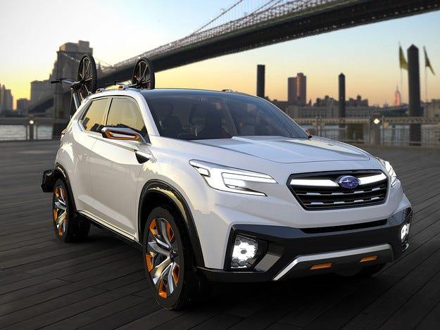 Концептът Subaru Viziv Future ще тества автономно шофиране