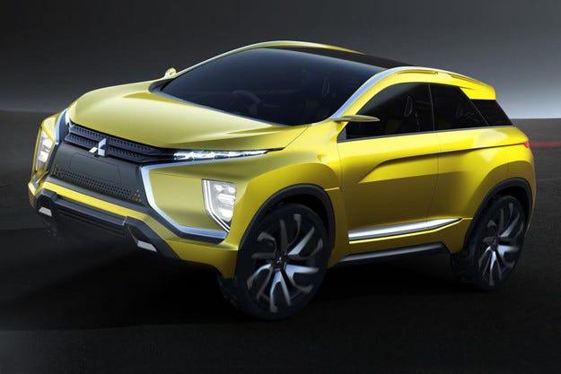 Mitsubishi ще покаже в Токио изцяло електрически кросоувър