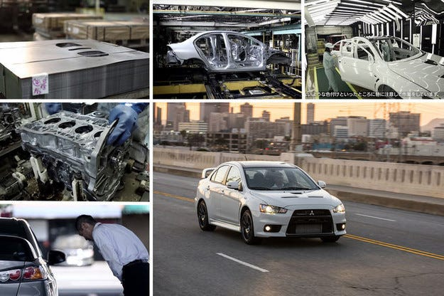 Mitsubishi Lancer Evo Final Edition: Последното пътуване