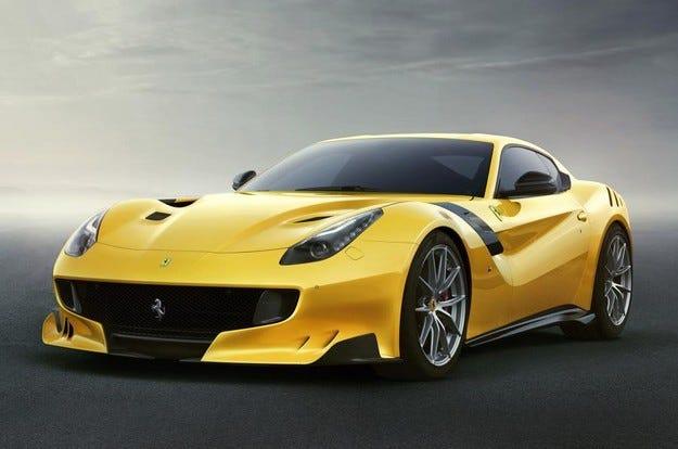Ferrari F12tdf: Със състезателни способности по пътищата