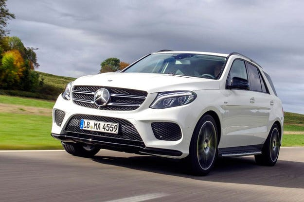 Mercedes-Benz представи кросоувъра GLE 450 AMG 4Matic