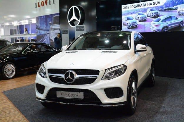 Mercedes-Benz показа три премиерни SUV автомобила