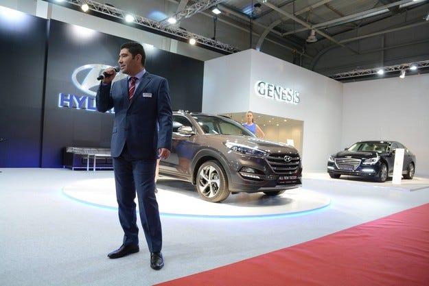 Hyundai показва напълно подновената гама