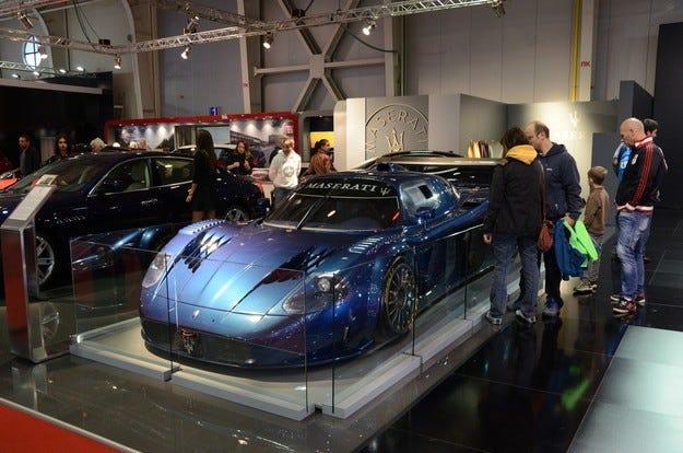 Maserati MC 12 Versione Corse гастролира в София