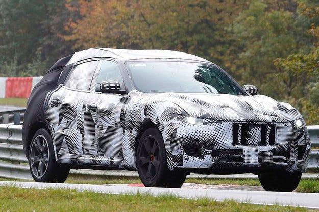 Кросоувърът Maserati Levante ще изглежда като Alfieri