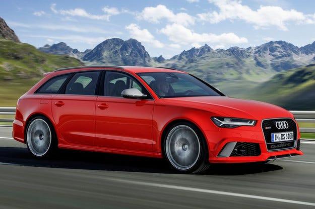 Audi разкри най-мощното комби RS6 и лифтбек RS7