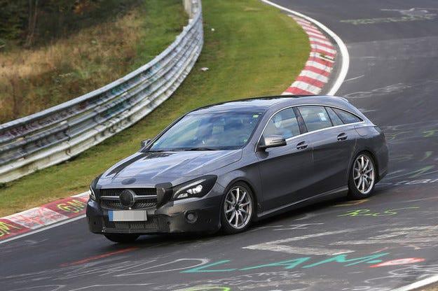 Представят обновените Mercedes CLA през март в Женева