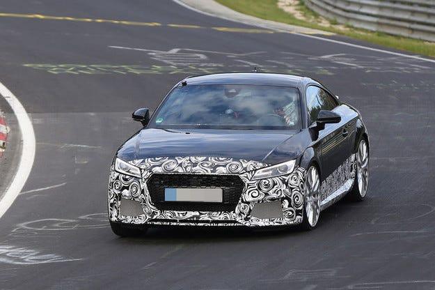 Audi TT RS: Пред нас е екстремен състезател